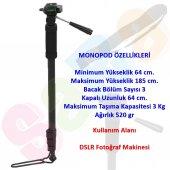 Canon 185cm Pro Monopod 60d 70d 80d 6d 1300d 1200d 1100d