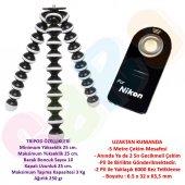 Nikon Gorillapod Tripod + Ml L3 Kumanda D7000,d7100,d7200,d80,d60