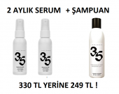 Saç Serumu + Şampuan