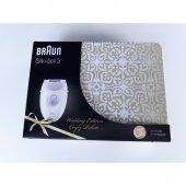 Braun Silk Epil 3 Epilatör 3170 Soft Perfection yenı metal kutu