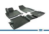 Nissan Qashqai 3D Novline Havuz Paspas Siyah 4 Prç 2007-2014