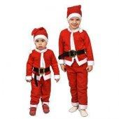 Erkek Çocuk Noel Baba Kostümü