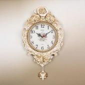 Regal Ultima 8150 Wgı Büyük Güllü Beyaz Sarkaçlı Saat