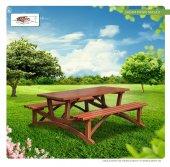 Sağam Ahşap Piknik Masası