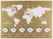 Regal Ultima 1397 Gs Sarı Büyük Dünya Saatı