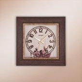 Regal Ultima 1369 A1 Rustik Ahşap Desenli Köşeli Saat