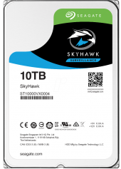 Seagate Skyhawk 10 Tb 7200rpm Sata3 256mb 210mb S Rv 180tb Y 7 24