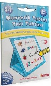 Dıy Toy Manyetik Tablet ve Yazı Tahtası (Mavi)