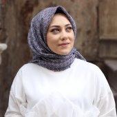 ColorScarfs Desenli Koton Eşarp