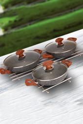 şan Granit 3lü Omlet Seti Takımı