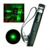 Yeşil Lazer Pointer Şarjlı Kilitli Zoom Yakıcı 1000mW-5