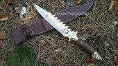 Kurt Başlı Komando Bıçağı Kök Ceviz