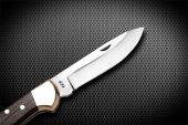 Bora M 201 WG Orta Boy Düz Ağızlı Kilitli Wenge Saplı Çakı-2