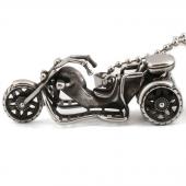 Frilly Motosiklet Çelik Kolye (FKK273AZ)-4