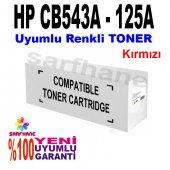 Hp Cp1215 Cp1515 Cm1312 Kırmızı Muadil Toner Cb543...