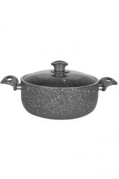 Şan Granit Derin Tencere - No:28 - 5 litre