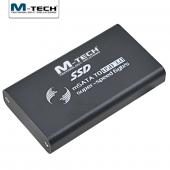 M Tech Mmssd0056 Usb3.0 Msata 6gbps İçin Harici Ssd Disk Kutusu, Siyah