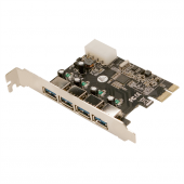 M Tech Mtbk0057 4 Port Usb3.0 Pcı Express Kart,...