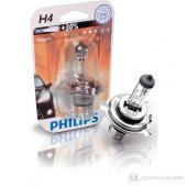 Philips H4 30 Fazla Işık Uzun Kısa Far Ampülü...