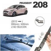 Peugeot 208 2012 Ve Üzeri 2 Adet Silecek