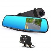 Full Hd Araç İçi Yol Kayıt Ve Park Kamerası Dikiz Ayna