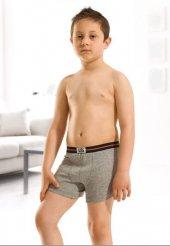özkan 0711 Erkek Çocuk Lycra Boxer