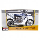 Maisto 1:12 Yamaha YZ450F Model Motorsiklet-2