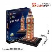 Cubic Fun 3d 28 Parça Puzzle Big Ben Saat...