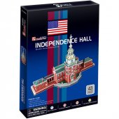 Cubic Fun 3D 43 Parça Puzzle Independence Hall Bağımsızlık Salonu-4