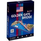 Cubic Fun 3D 20 Parça Puzzle Golden Gate Köprüsü-4