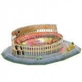 Cubic Fun 3D 185 Parça Puzzle Colosseum Arena - İtalya (Led Işıkl-2