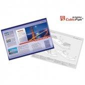 Cubic Fun 3D 20 Parça Puzzle Golden Gate Köprüsü-2