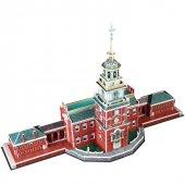 Cubic Fun 3D 43 Parça Puzzle Independence Hall Bağımsızlık Salonu-3