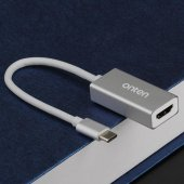 Yeni Nesil Chromebook Type-C to HDMI 4K Çevirici Kablo-3