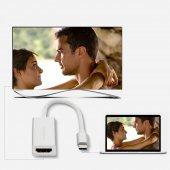 Yeni Nesil Chromebook Type-C to HDMI 4K Çevirici Kablo-4