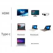 Yeni Nesil Chromebook Type-C to HDMI 4K Çevirici Kablo-7