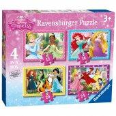 Ravensburger 4 İn A Box Puzzle Wd Princess