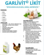 Hayvanlar İçin Sarımsaklı Vitamin - Farmavet Garlivit 1 lt-2