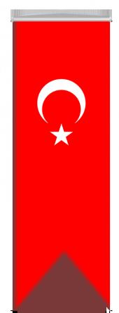 Türk Bayrağı Kırlagıç 50x150