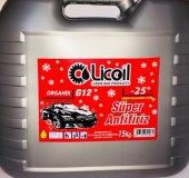 Licoil organik G12 Kırmızı Antifriz 15Kg Bidon (-25 Derece)