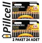 Duracell Alkaline 9+3 Aa Kalem Pil Ekonomik...