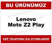 Lenovo Moto Z2 Play Delikli Mat Sert Kamera Korumalı File Kılıf D-2