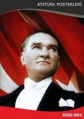 Atatürk Resmi Raşel Kumaş 4x6