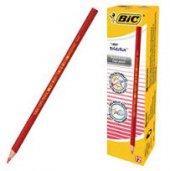 Bic Evolution Kırmızı Kalem 12 li coco