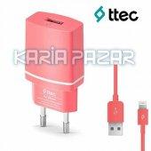 TTEC Compact iPhone 5/5S/6/6S/7 Şarj Cihazı-2