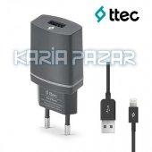 TTEC Compact iPhone 5/5S/6/6S/7 Şarj Cihazı-3