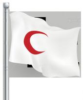 Kızılay Bayrağı Gönder 70x105