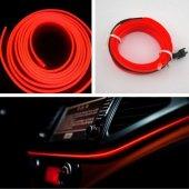 Kırmızı İp Neon Neon Kablo 2 Metre 378816