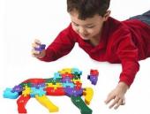 Çocuk Oyuncak Ahşap Öğretici Puzzle Hayvanlar Alemi Asorti-2