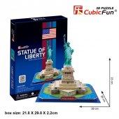 Cubic Fun 3d 39 Parça Puzzle Özgürlük Anıtı Abd...